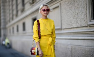 Yellow trend: Jak kombinovat žlutou barvu?