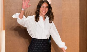 It Girl Alexa Chung: Povedl se jí debut na London Fashion Week?