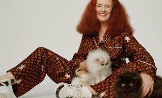 Kolekce Louis Vuitton a Grace Coddington je plná koček