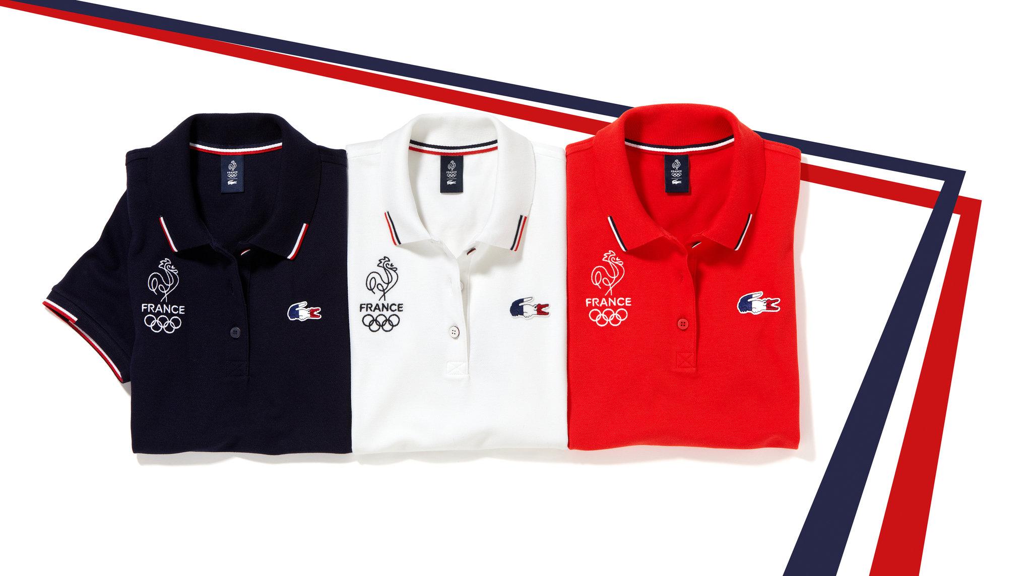 Značka Lacoste podpoří Francii na Olympijských hrách v Riu