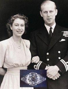 Královna Elizabeth II. a Princ Phillip